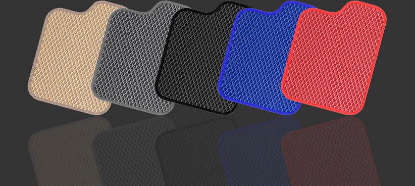 Различные цветовые сочетания EVA ковриков