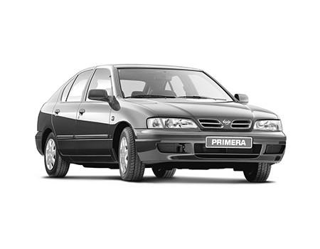 Ковры салонные Nissan Primera II (P11) 1996 - 2002 правый руль