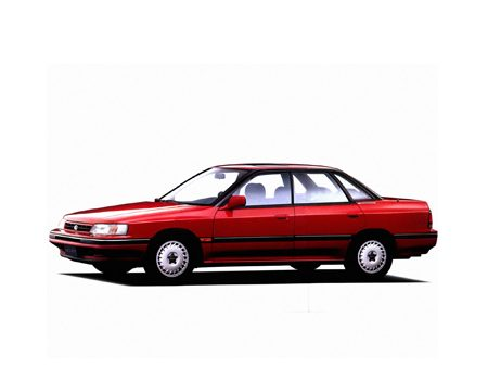 Subaru Legacy I правый руль 1989 - 1994